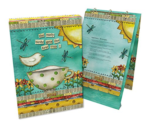 Lang 2016001 Color My World Vertical Recipe Card Album by Lisa Kaus, Assorted