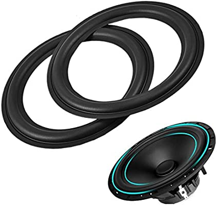 """High Quality 8/"""" 8inch 196mm Speaker Surround Repair Rubber Edge Replacement"""