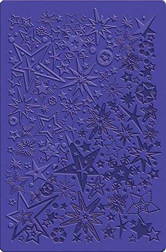 DTM–Zubehör Fimo, Musterschablone, Sterne–Schneeflocken