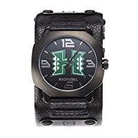 Rockwell NCAA Hawaii Rainbow Warriors Men's Assassin Watch, Adjustable, Black