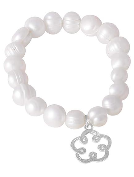 Córdoba Jewels   Plata de Ley 925. Diseño Flor Guru: Amazon ...
