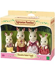 Sylvanian Families Chocolate Rabbit Family Dolls -sf4150