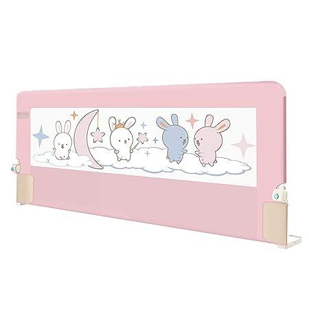 Baby Bed Rail Pink Crib Rail Fits Toddler 2m Bed Guard Sleep