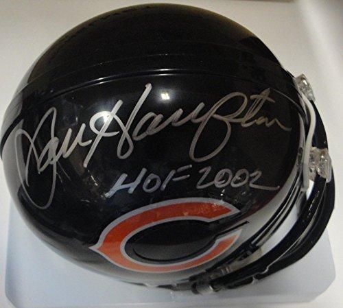 Dan Hampton Hand Signed Autographed Mini Helmet Chicago Bears HOF (Chicago Bears Mini Helmet)