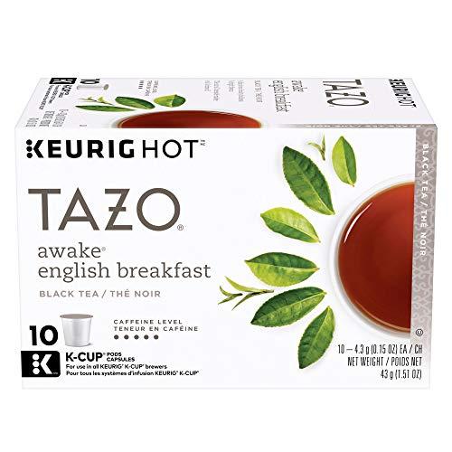 Tazo Awake English Breakfast Black Tea K-Cup, 10 ct (Pack of 6)