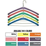 Foam Hanger Covers by Non Slip Grips in 9 Bright Colors | Shoulder Guards for 16