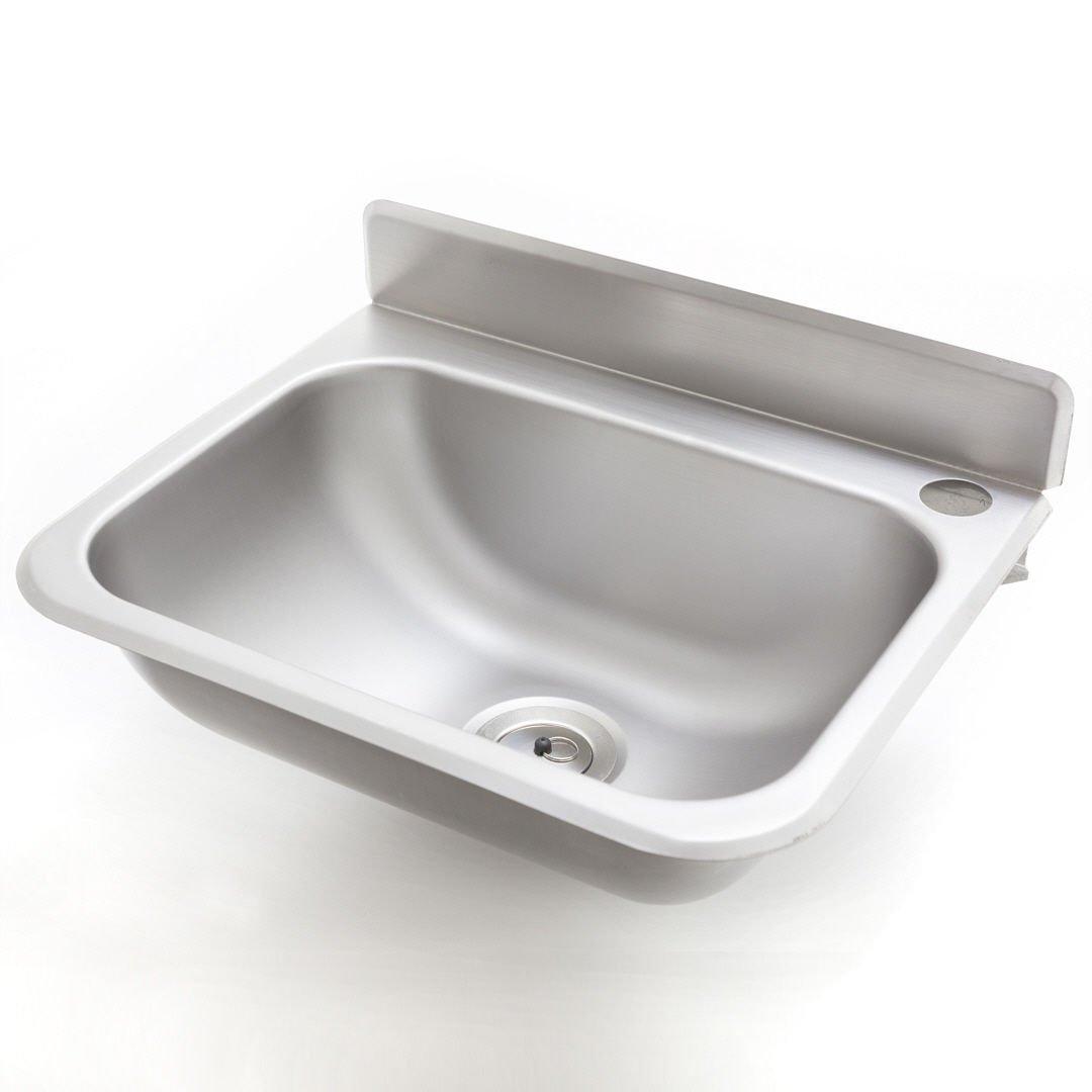 Waschbecken Edelstahl handwaschbecken kleine ausführung 38x20x33 cm amazon de küche
