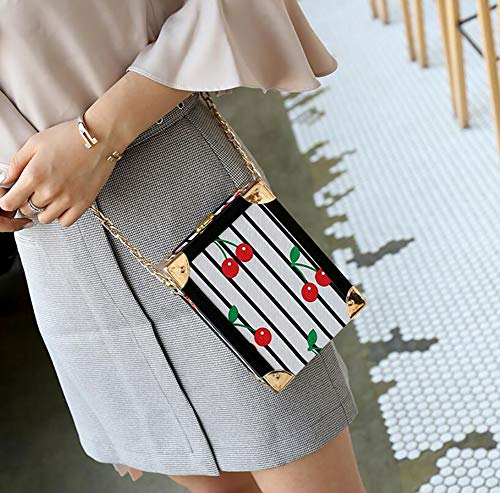 Casual Single Shape Qiulv Vintage Leather Square Handbag Small Bag PU Crossbody A Bag UwqY4n6Rq