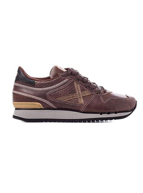 ff2248a7255 Zapatillas Munich NOU 49 46 Marrã³n  Amazon.es  Zapatos y complementos