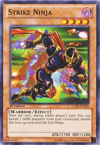 Yu-Gi-Oh! - Strike Ninja (LCJW-EN282) - Legendary Collection ...
