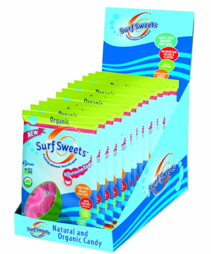 Surf Sweets Organic Watermelon Rings, 2.75 Ounce (Pack of 12) (Gluten Free Organic Corn Syrup)