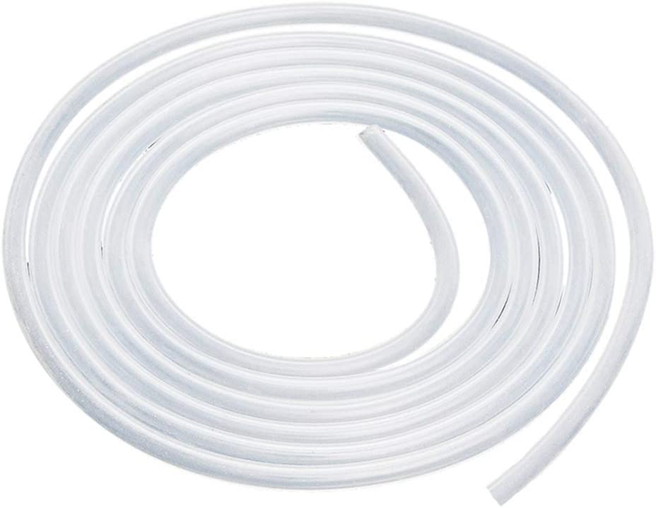 Quickun Pure Silicone Tubing, 1.5mm ID x 3mm OD High Temp Food Grade Tube Pure Silicone Hose Tube for Home Brewing, Beer Line, Kegerator, Wine Making, Aquaponics, Air Hose by Proper Pour (9.84 Ft)