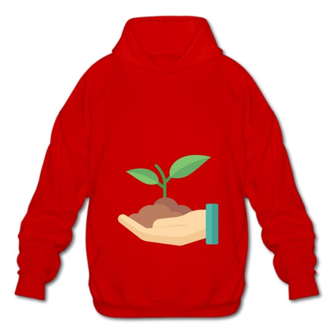 Euochengqus Fashion Sweatshirt Mens Cotton Pullover Fashion Hoodies-03 Cartoon Soil wgxi Hooded