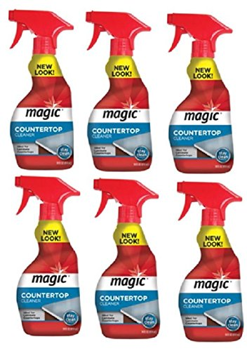 Countertop Magic - Magic Countertop Cleaner Spray 414ml 14oz x6