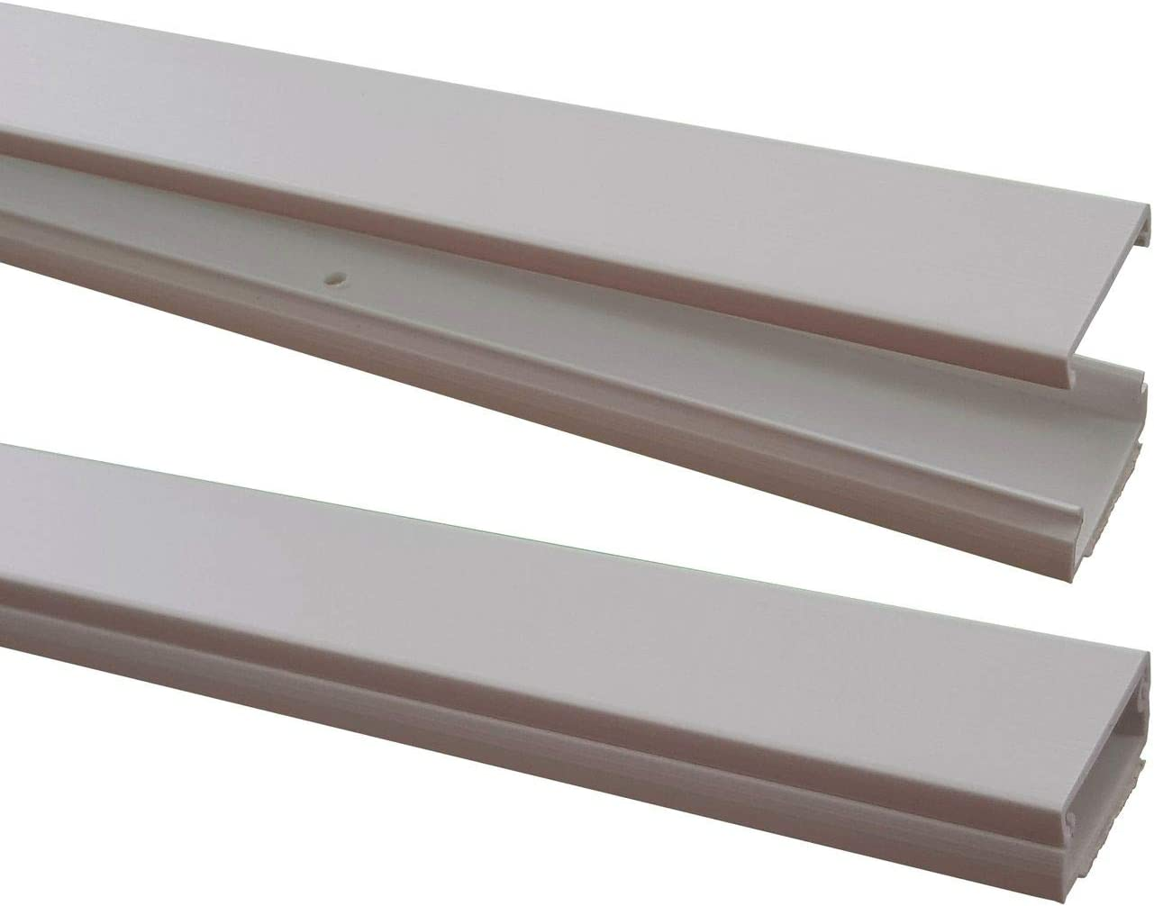 Colour:Light Brown Mixed connectors Available Outside Dimension diff Colours self-Adhesive 1m Wire Duct 25,4x11mms