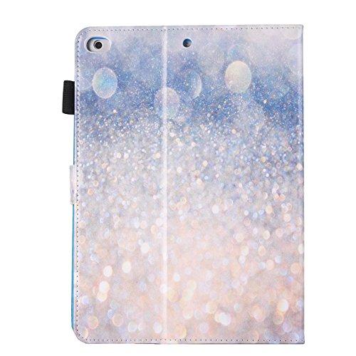 inShang iPad iPad air / iPad 5 Fundas soporte y carcasa para iPad iPad air ((2013 Release) , smart cover PU Funda + clase alta 2 in 1 inShang marca negocio Stylus pluma Sparkling sand