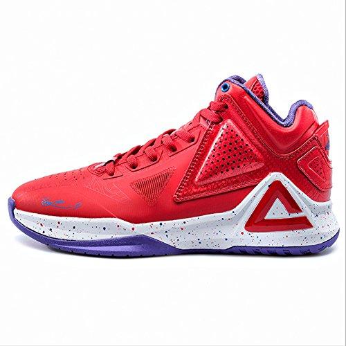 Crête Mens Nba Joueur Exclusif Tony Parker I Chaussures De Basket-ball Édition Détoiles Rouge
