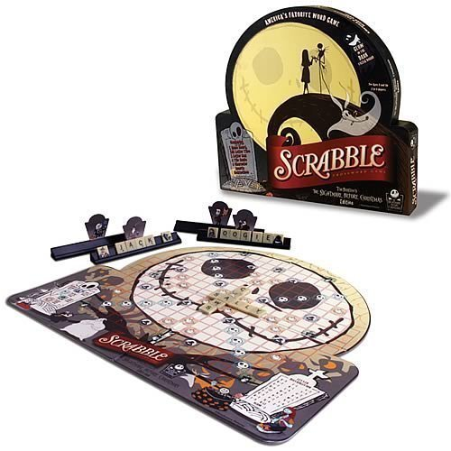 Amazon.com: Nightmare Before Christmas Scrabble: Toys & Games