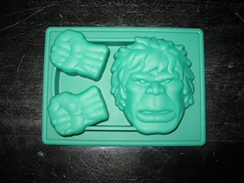 Hulk the Avengers Silicone Candy Mold Chocolate Mini Cake Pan