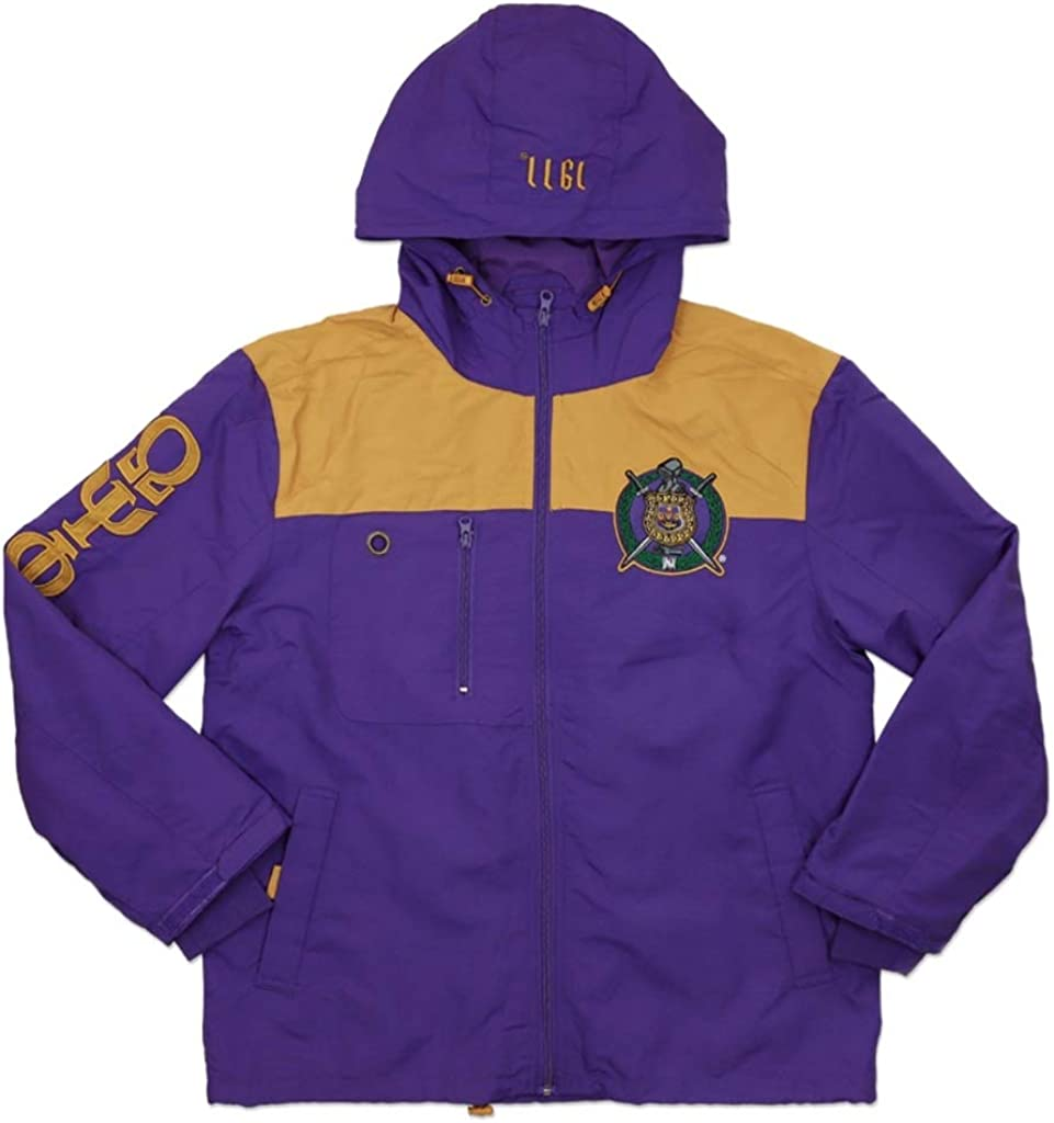 Psi Phi Invictus Windbreaker Jacket Purple