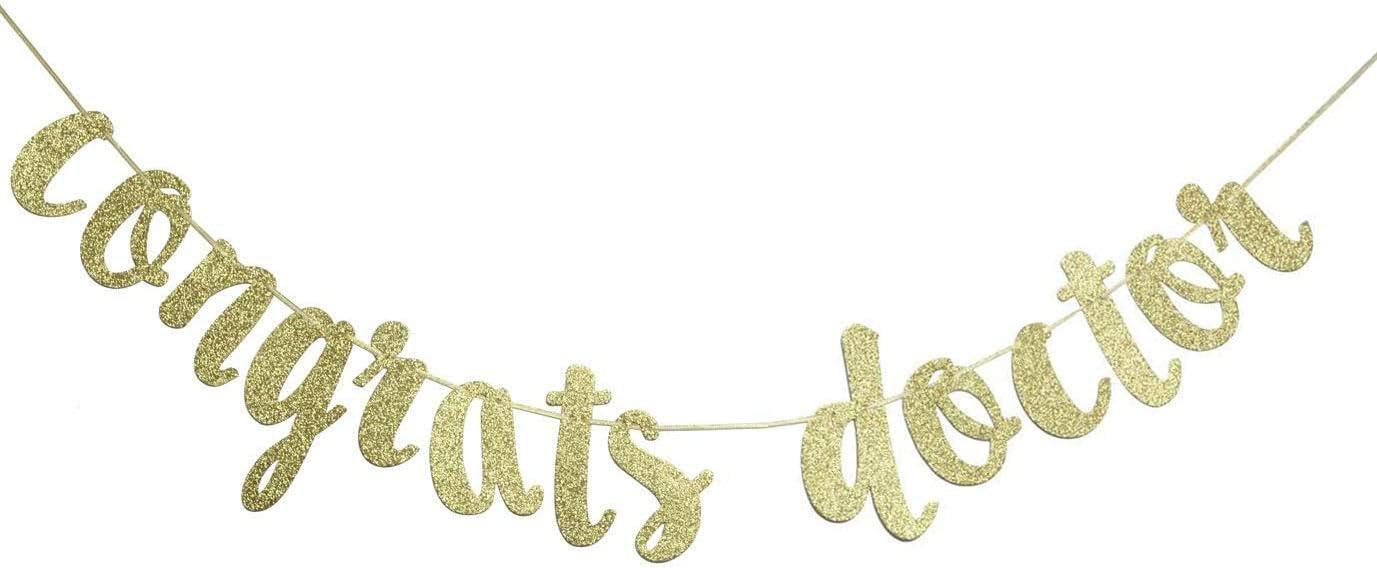 Congrats Doctor Banner, Doctor Graduation Decor, RN Graduation Sign, MD Graduation Garland