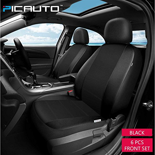 PICAUTO Car Seat Covers Set For Auto Truck Van SUV