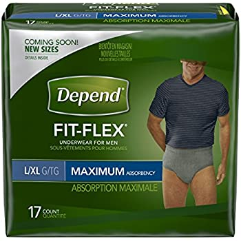 901261536b2 Depend FIT-FLEX Incontinence Underwear for Men