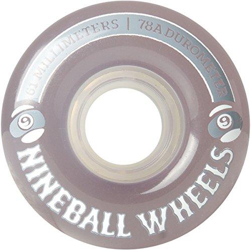 Sector 9 Nine Balls Skateboard Wheel, Smoke, 61mm 78A