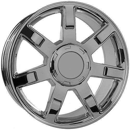 22 Inch Cadillac Escalade Chrome Replica Wheels Rims