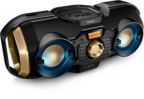 Philips Bluetooth Boombox Speaker – Rugged