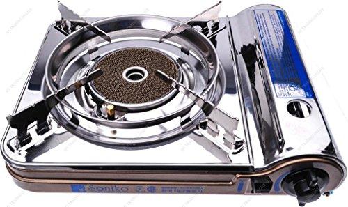 M.V. Trading Co NS3500CS/BZ Soniko Steel Portable Gas Sto...