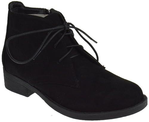 e488838e70fbc4 Amazon.com | Jasper 18 Womens Lace Ups Oxford Boots Black 5 | Oxfords