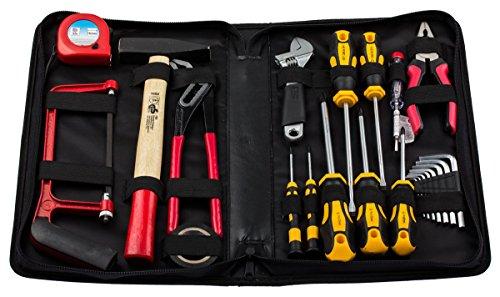 Werkzeug Set 23-tlg. Schraubendreher Satz Zangenset Werkzeug Sortiment Werkzeugtasche