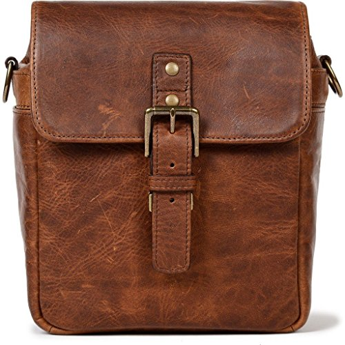 ONA - The Bond Street - Camera Messenger Bag - Antique Cognac Leather (ONA5-064LBR) by ONA