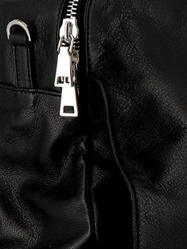 Femme Sac Unique à Noir Hags Main pour Noir Taille BIOdq4