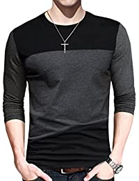 Mens Short Sleeve T-Shirt Casual Tops Tee Classic Fit Basic Shirts