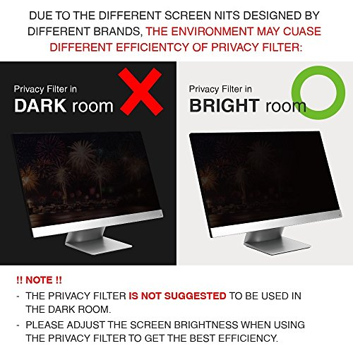 SenseAGE Anti-Blue Light Privacy Filter for Laptop 12.5 inch 16:9 for PC Monitor