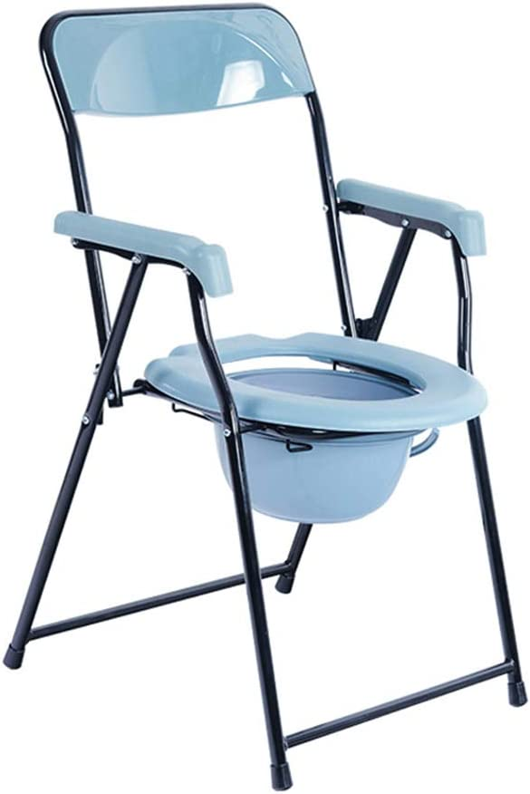 Elderly supplies Bedside Commodes, Bedroom Toilet Chair, Toilet Seats & Commodes, Toilet Shower Toilet Chair, Folding Portable Commode, Toilet seat and Frame for The Disabled 51KM3Y4WZLLSL1000_