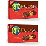 Ritz Fudge Chocolate Covered Crackers Limited Edition 7.5 Oz - Pack of 2