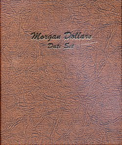 Date Dansco Album (Dansco US Morgan Silver Dollar Date Set Coin Album 1878 - 1921 #7171)
