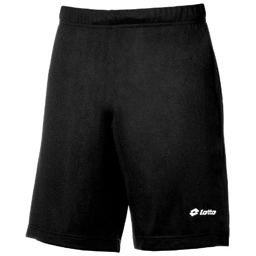 Lotto Mens Football Omega Short Sports (M) (Black)