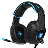 2017 New Update Sades SA-R13 stereo USB Gaming Headset Headphone with Omnidirectional Microphone for PC MAC Computer Laptop