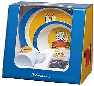 Rosti Mepal 108315065200 - Vajilla infantil de 4 piezas, diseño Miffy