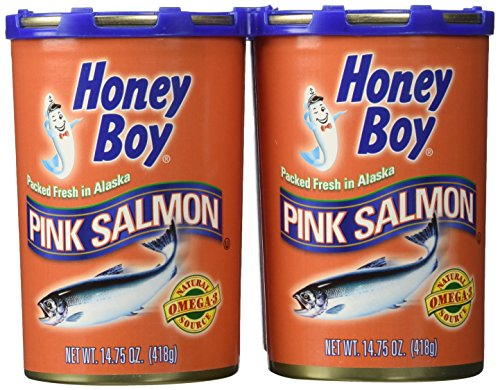 Honey Boy Pink Salmon - 4/14.75 oz. cans