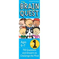 Brain Quest Grade 1, Revised 4th Edition: 750 Questions and Answers to Challenge the Mind by Chris Welles Feder, Susan Bishay - Hardcover