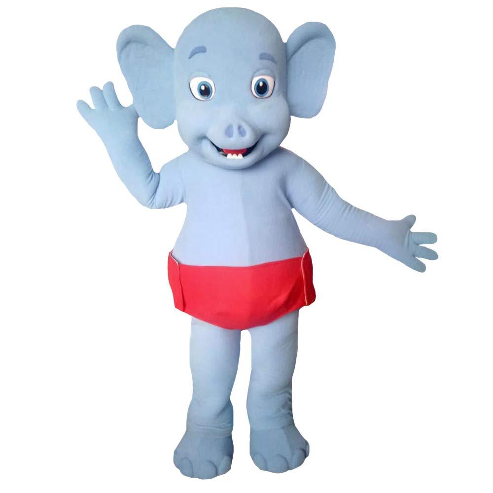 Quality Mascots Costumes Bailey - Disfraz de Elefante para Fiesta ...