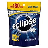 ECLIPSE Winterfrost Sugarfree Gum, 8.8-Ounce 180