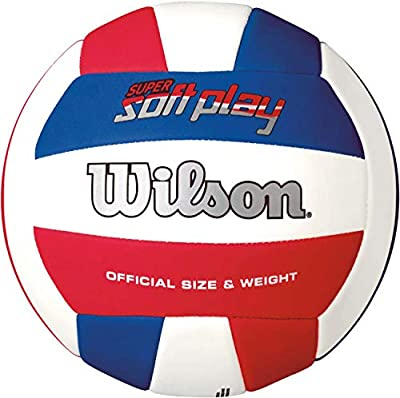 Wilson Super Soft Play Volleyball by Wilson Sporting Goods - Team