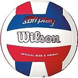 Bola de Vôlei Super Soft Play Wilson Pacote ... 51f404ea737fd