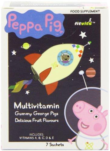 George Pig Multivitamin Gummy Pigs (Pack of 3)